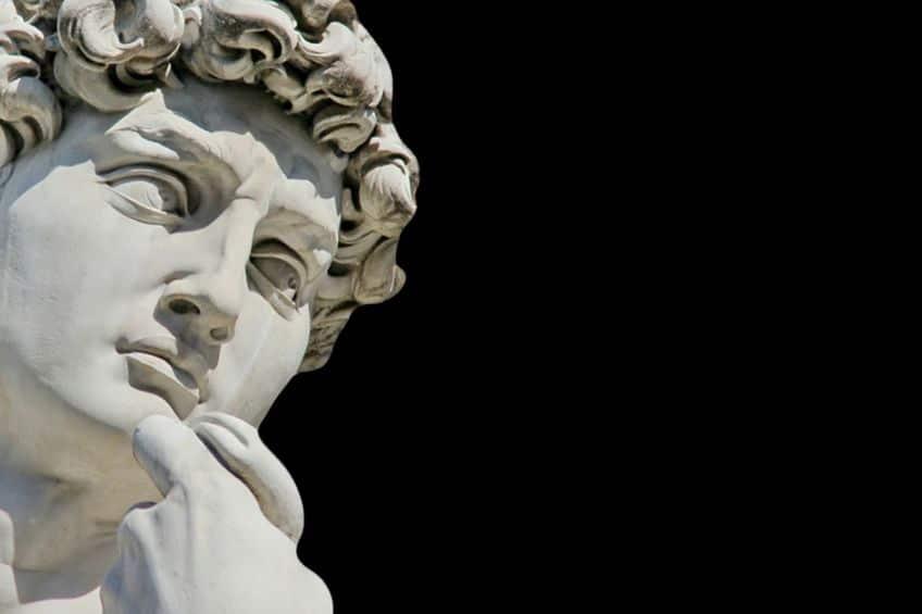 ダビデ像の目がハート型になっている理由に関する雑学