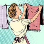 ハンカチやタオルを早く乾かすにはレジ袋を使うという雑学
