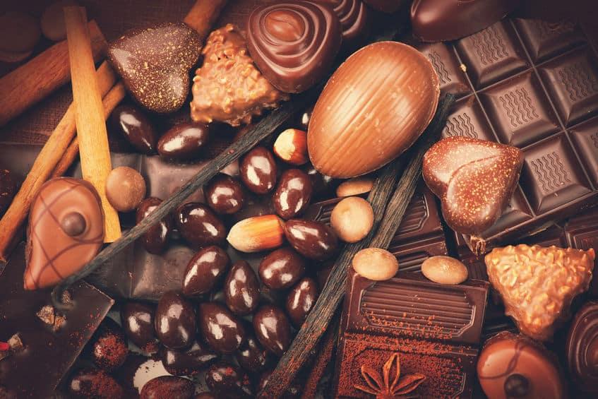 ダークチョコレートはシワ予防に役立つ可能性があるという雑学