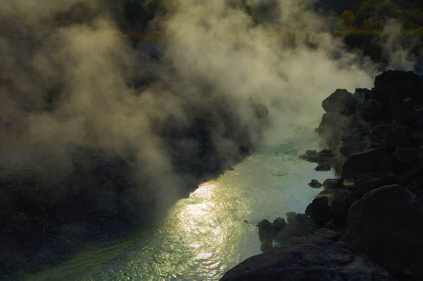南極で海水浴ができるのは温泉が湧いているから。というトリビア