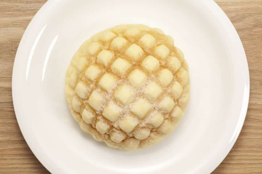 「メロンに似てるからメロンパン」だとは限らないというトリビア