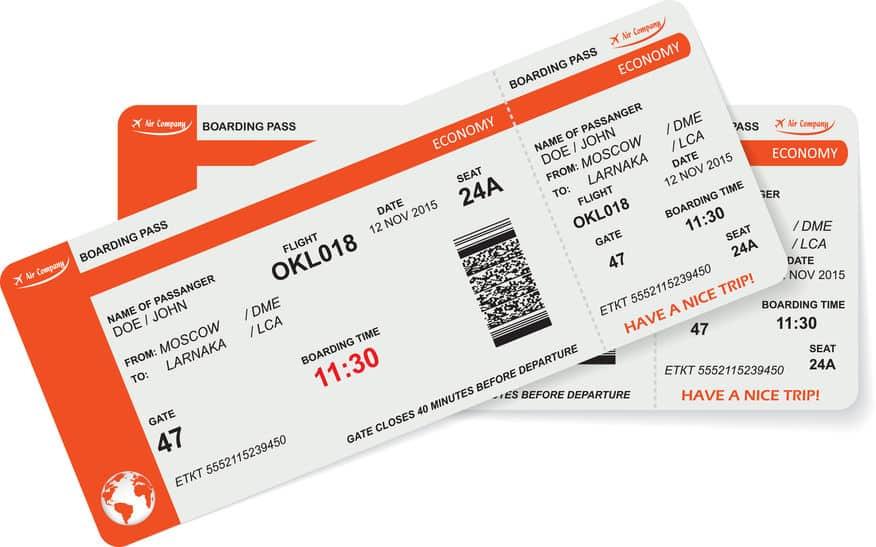 航空機チケットに「SSSS」が書いてあった場合は要注意という雑学