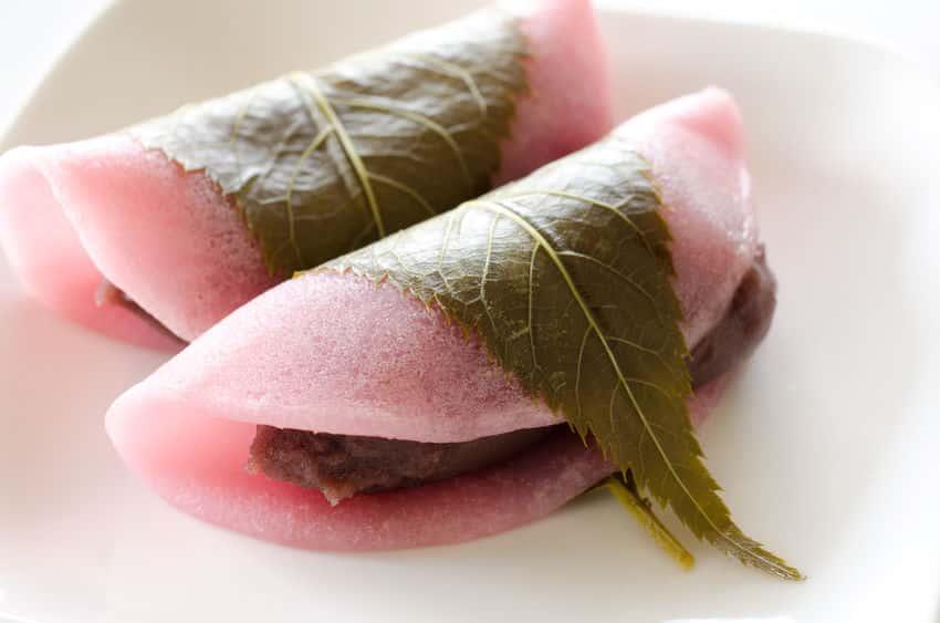 関東の桜餅「長命寺餅」