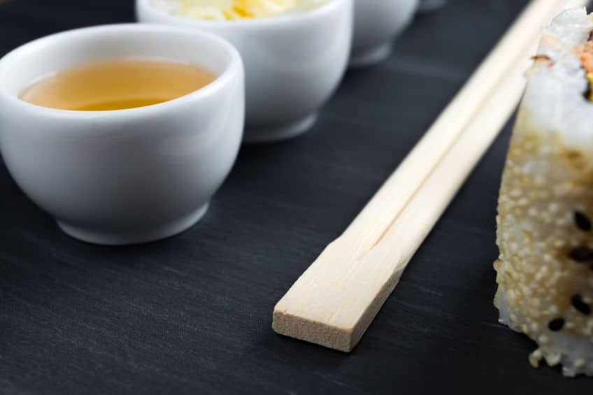 """寿司屋で言いたい!お茶を""""あがり""""という理由についてのトリビア"""