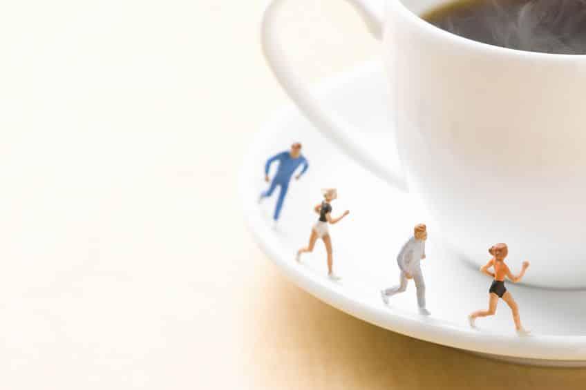 カフェインは運動のダイエット効果も高めるというトリビア