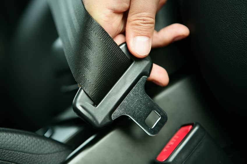 シートベルトを着用しなくてもいいケースは9つもあるというトリビア