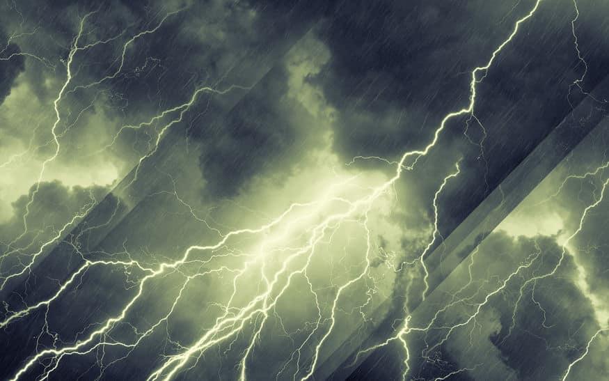 雷がギザギザに落ちる理由に関する雑学