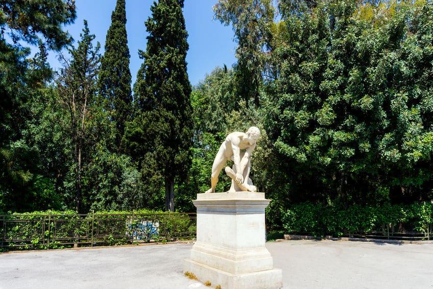 古代オリンピックは紀元前776年に始まったという雑学