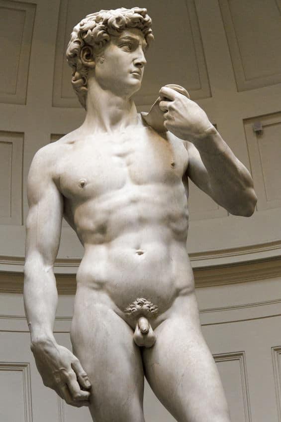ダビデ像はなぜ包茎?なぜあんなにアレが小さい?というトリビア