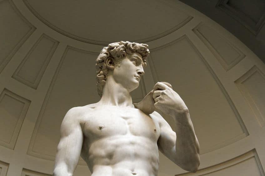 ダビデが肩からかけている投石機に関する雑学