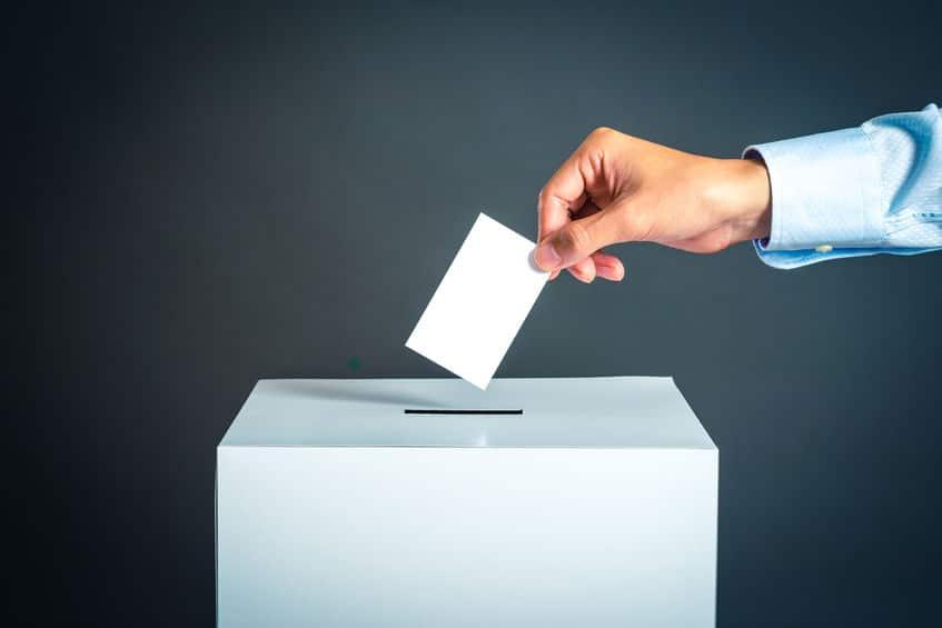 選挙で無効票となる書き方についてのトリビア