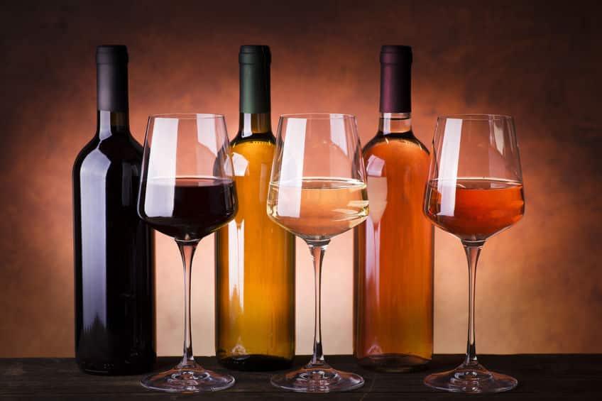 赤ワイン・白ワイン・ロゼワインの違いに関する雑学