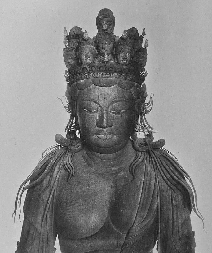 仏像が笑う…?十一面観音像の後ろの顔は爆笑しているという雑学まとめ
