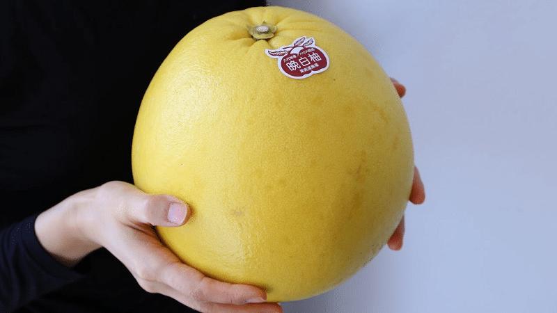 晩白柚は皮まで食べられる!?というトリビア