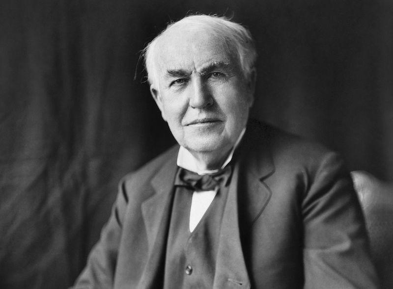 エジソンはモールス信号でプロポーズしたという雑学