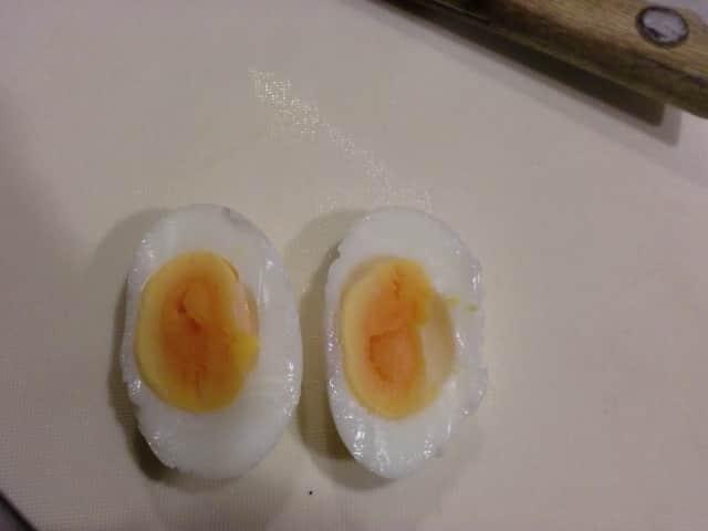黄身返し卵にならなかった!