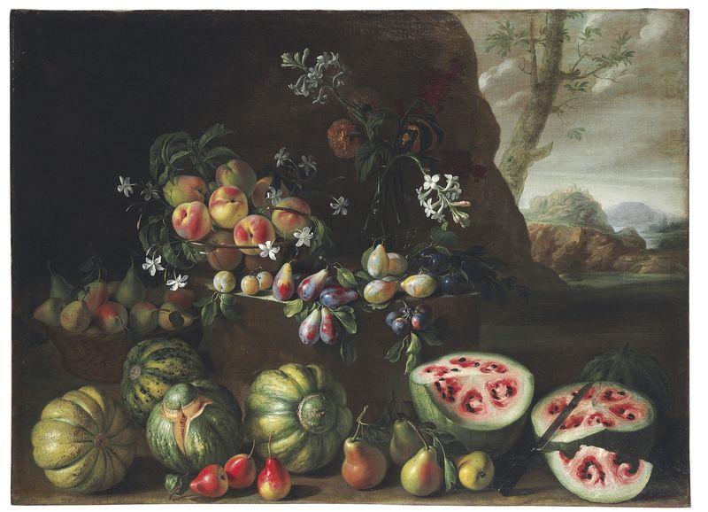 17世紀のジョバンニ・スタンキのスイカ