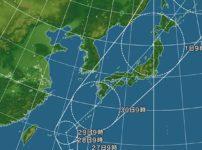 台風はどうして日本に向かって曲がってくるのかという雑学