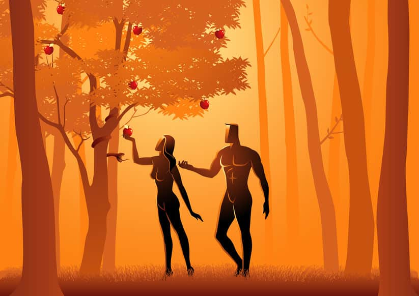 聖書の世界ではアダムがリンゴを喉に詰まらせたものが喉仏になったというトリビア
