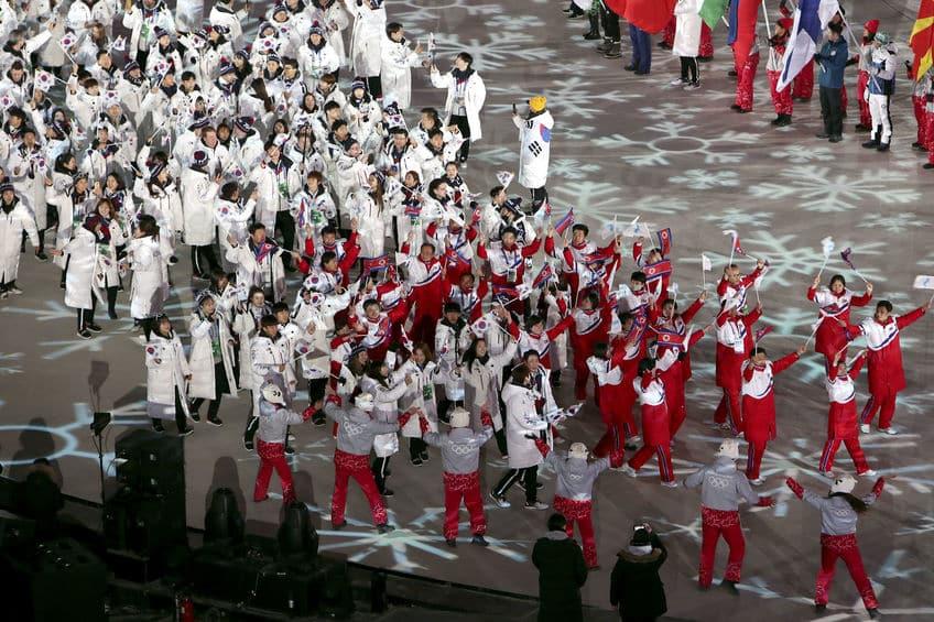 閉会式の入場についてのトリビア