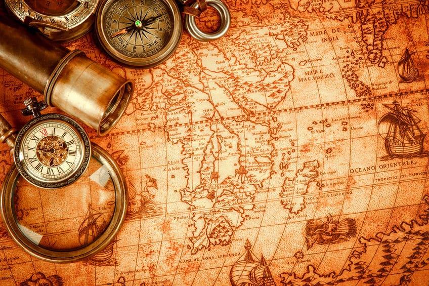 地図で上が北なのはなぜ?に関する雑学