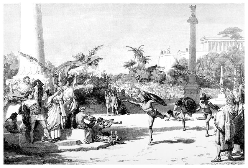 古代オリンピックが4年に1度の開催だったからというトリビア