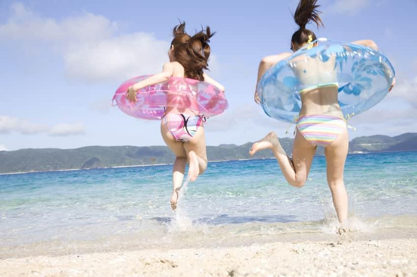 日本一早い海開きは1月1日という雑学