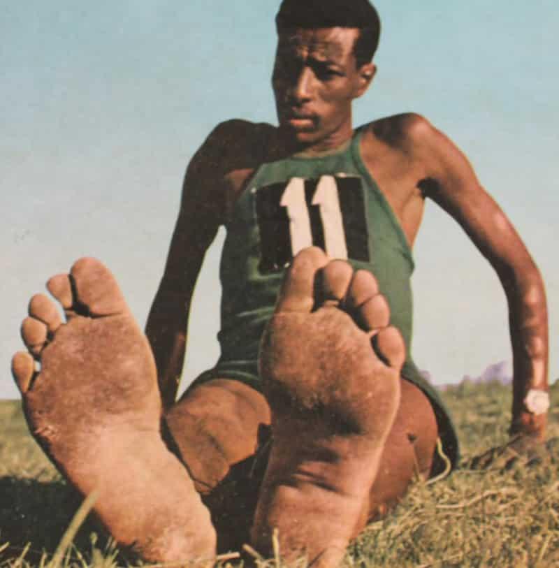 「裸足のアベベ」の栄光と悲劇に関する雑学