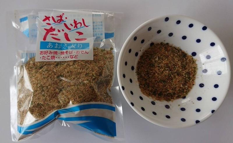 富士宮やきそばで使用する削り粉