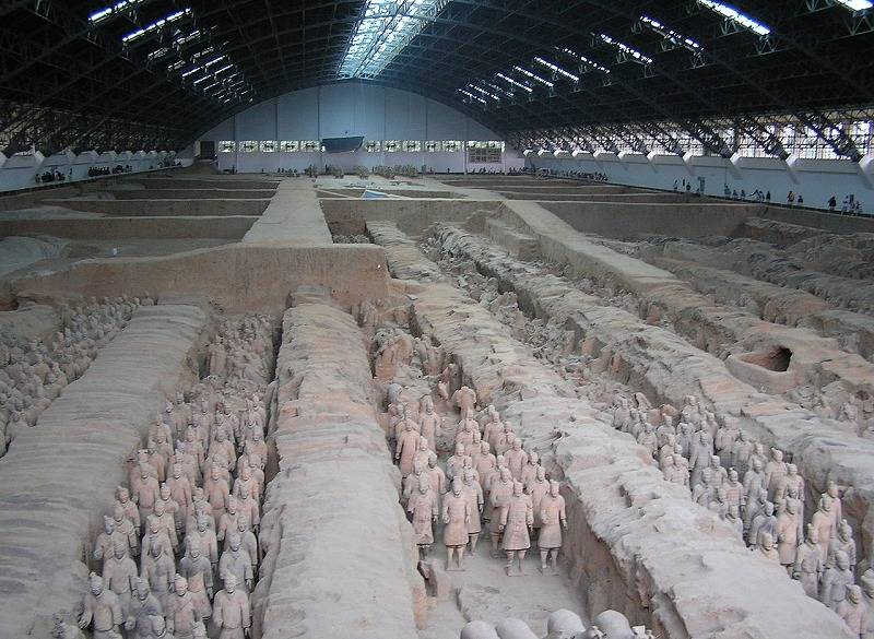 中国・秦の始皇帝陵についてのトリビア