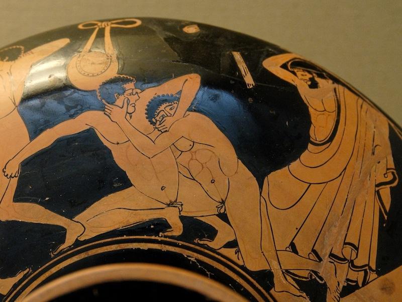 パンクラチオンは人類最古の格闘技のひとつ