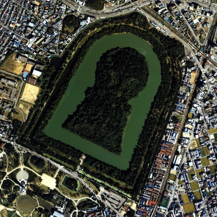 全長840m!日本一大きな古墳は大仙陵古墳。大阪にあるよ〜!【仁徳天皇陵?】についての雑学まとめ