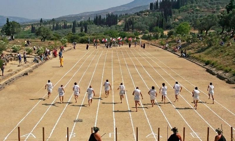 古代オリンピックは4つの大会の1つについてのトリビア