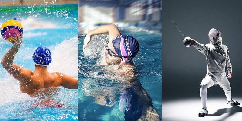 異なる3つの競技でオリンピックに出場したというトリビア