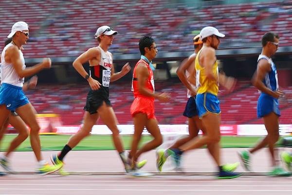 競歩のルールはかなり過酷についてのトリビア