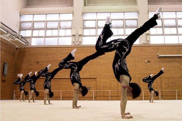 男子の新体操があるのは日本だけだったという雑学
