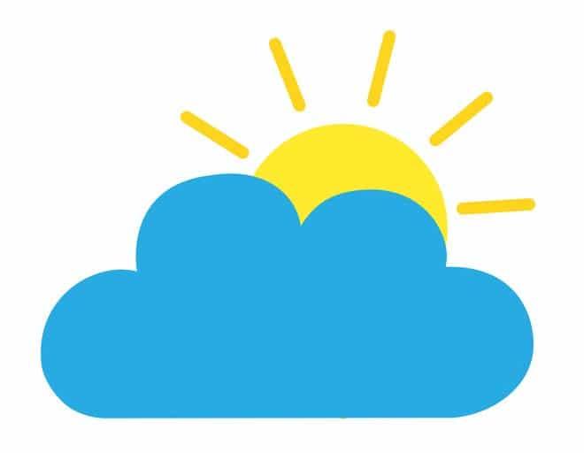 """天気予報で""""101""""は「晴れ時々くもり」?というトリビア"""