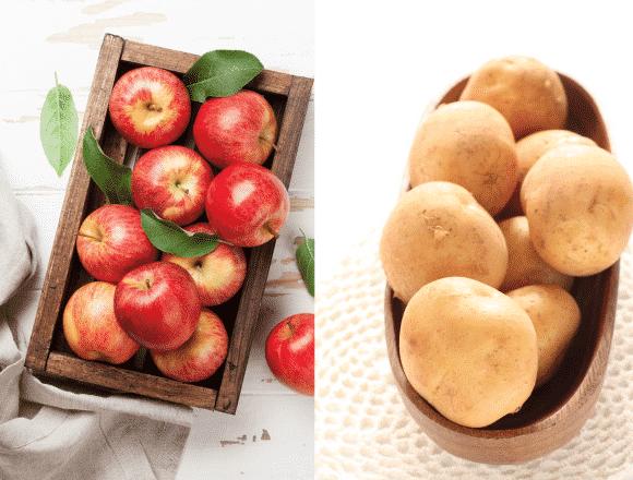 軽度のやけどには「りんご」や「じゃがいも」の汁が効果的?に関する雑学