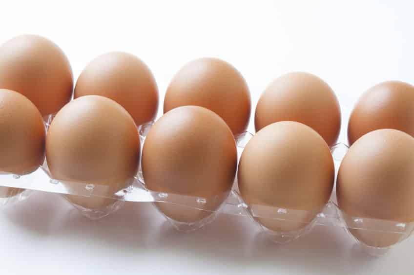 ニワトリの卵はとがっているほうが下というトリビア