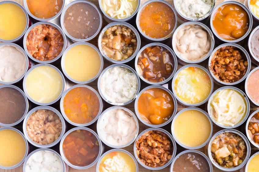 ほとんどの缶詰に防腐剤は入っていないというトリビア