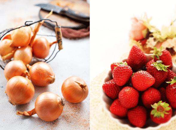 タマネギの甘さはイチゴ並みという雑学