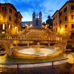 イタリア・ローマのスペイン広場でジェラートを食べたら罰金という雑学