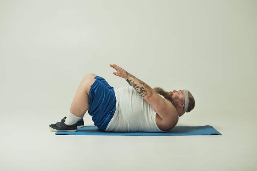 腹筋トレーニングはお腹の脂肪も体重も減らしてくれないかもというトリビア