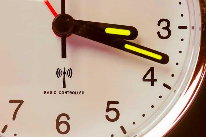 電波時計は本当に狂わないというトリビア