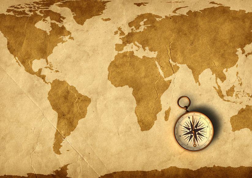 古代エジプトでは南・中世ヨーロッパでは東が上というトリビア