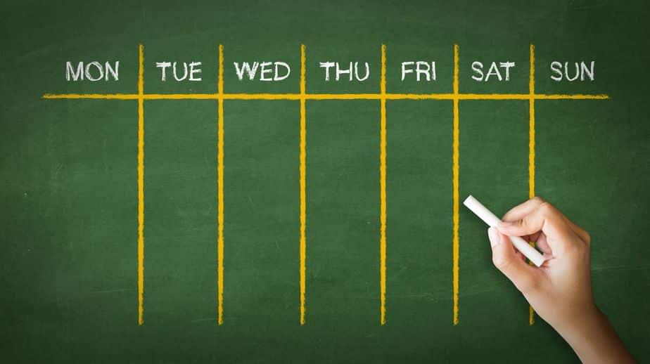 1週間が7日間の理由は?に関する雑学