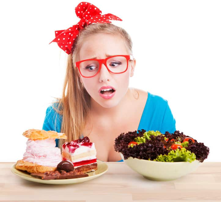 食事前に健康について考えるとダイエットできるというトリビア