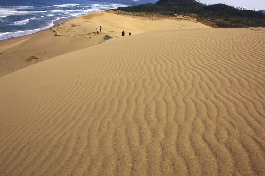 日本で2番目に大きな砂丘についてのトリビア
