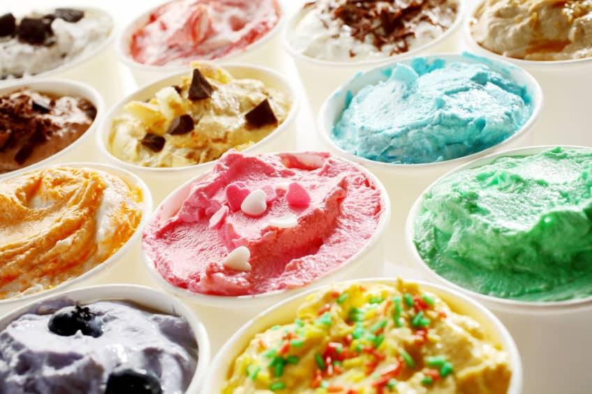 アイスには添加物がたくさん入っているというトリビア