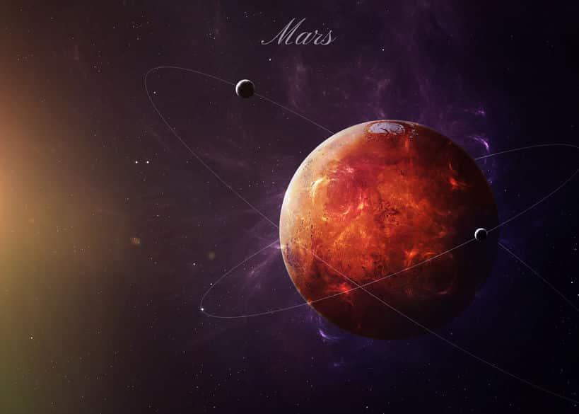 火星は表面が「錆びた鉄」の成分と同じ?に関する雑学